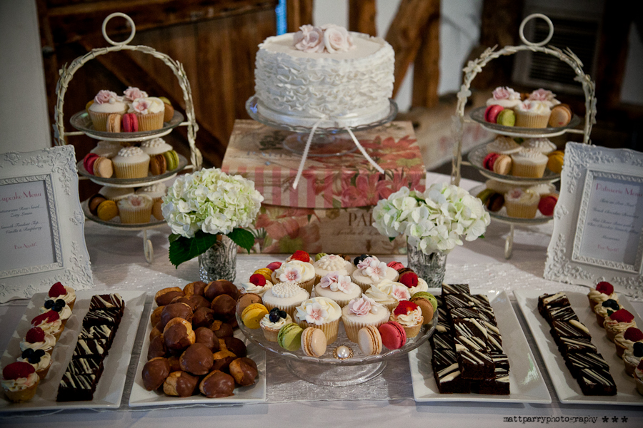 Patisserie Wedding Cake Table