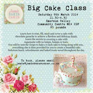 big cake class march 2014